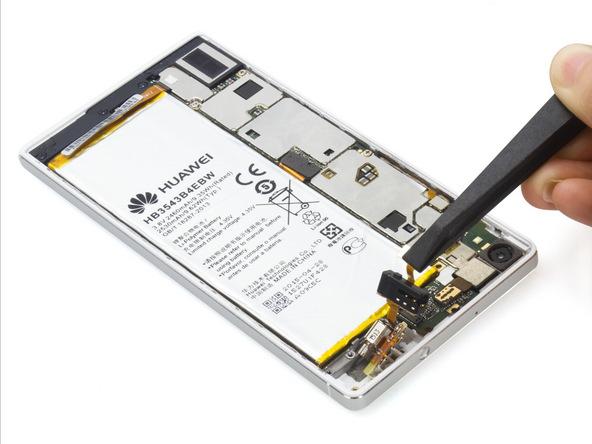 تعمیرات موبایل : آموزش تعویض جک هدفون هوآوی P7