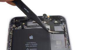 آموزش تعویض کابل دکمه پاور ۶ اس پلاس اپل