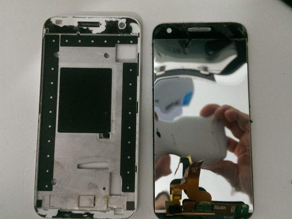 تعمیرات موبایل : آموزش تعویض تاچ ال سی دی Ascend G7 هوآوی