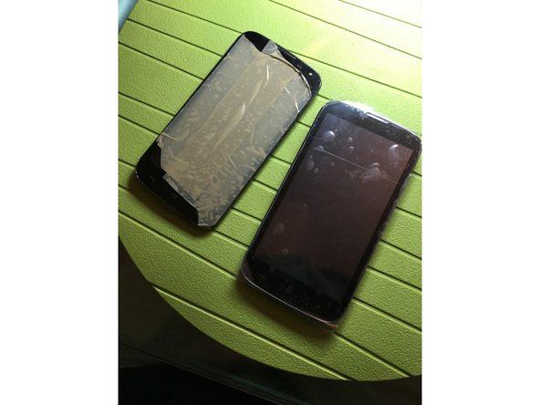 تعمیرات موبایل : آموزش تعویض تاچ ال سی دی Ascend G610