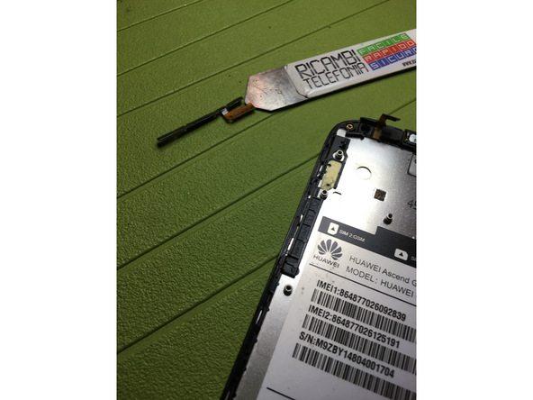 تعمیرات موبایل : آموزش تعویض دکمه ولوم و پاور Ascend G610