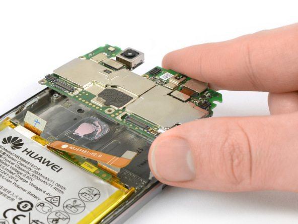 تعمیر موبایل : آموزش تعویض برد هوآوی پی 10 لایت (Huawei P10 Lite)