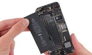 آموزش تعویض باتری آیفون SE اپل + ویدئو