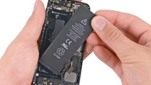 آموزش تعویض باتری آیفون ۵ اپل + ویدئو