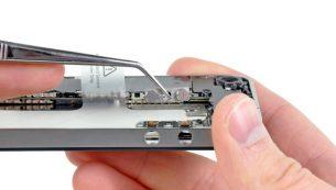 تعمیرات آیفون: تعویض دکمه ولوم آیفون ۴ اپل