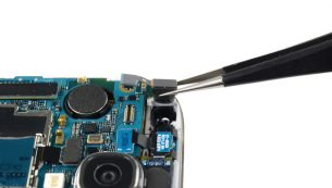 آموزش تعویض دوربین سلفی گوشی گلکسی اس ۴
