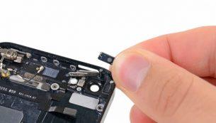 تعمیرات آیفون: تعویض دکمه پاور آیفون ۵ اپل