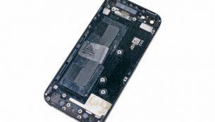 تعمیرات آیفون: تعویض درب پشت آیفون ۵ اپل