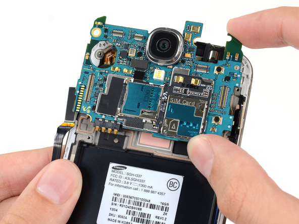 Samsung Galaxy S4 Motherboard Replacement