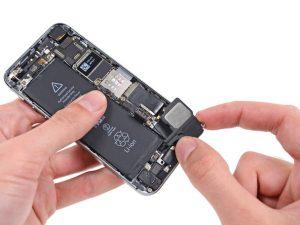 آموزش تعویض اسپیکر بازر آیفون ۵S اپل