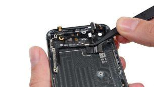 تعمیرات آیفون: تعویض سیم دکمه پاور و ولوم آیفون ۵S اپل
