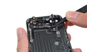 آموزش تعویض سیم دکمه پاور و ولوم آیفون ۵s اپل + ویدئو