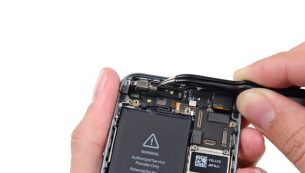 تعمیرات آیفون: تعویض ویبراتور آیفون ۵S اپل
