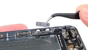 تعمیرات آیفون: تعویض دکمه ولوم آیفون ۵S اپل