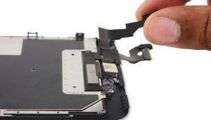 آموزش تعویض دوربین جلو آیفون ۶ اس پلاس اپل