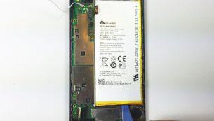 آموزش تعویض باتری گوشی موبایل هوآوی اسند پی ۶