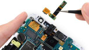تعمیرات سامسونگ: تعویض دوربین سلفی گوشیگلکسی نوت