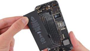 آموزش تعویض باتری آیفون ۵S اپل + ویدیو