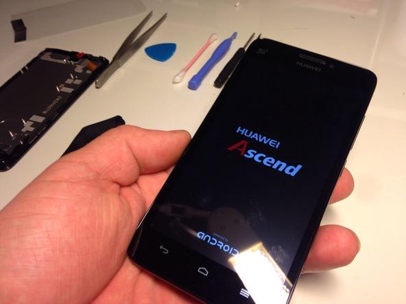 گوشی Ascend G630 تعمیری را خاموش کنید.