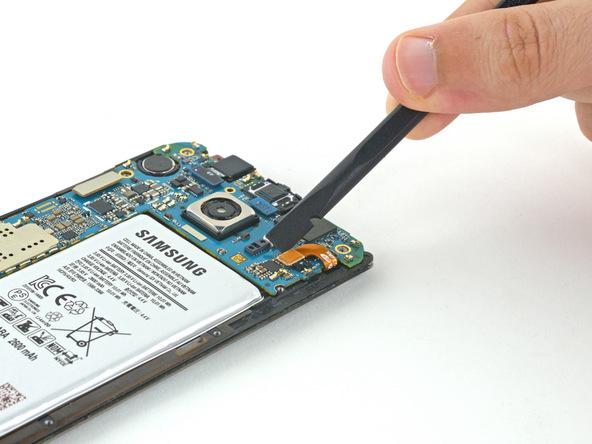 کانکتور باتری گلکسی S6 Edge تعمیری را باز کنید.