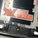 مجموعه دکمه هوم و سیم آن را کاملا از نمایشگر گلکسی اس 5 تعمیری جدا نمایید.