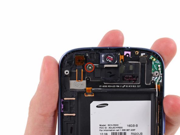 پیچ 2.0 میلیمتری نگهدارنده براکت دوربین سلفی گلکسی اس 3 تعمیری را باز کنید.