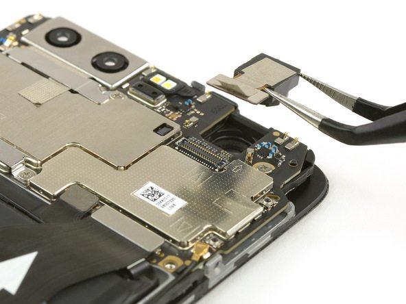 تعمیر موبایل : آموزش تعویض دوربین سلفی هوآوی پی 10 (Huawei P10)