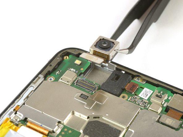 تعمیر موبایل : آموزش تعویض دوربین اصلی هوآوی P10 Lite