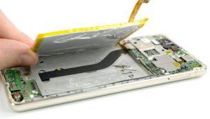 آموزش تعویض باتری هوآوی پی ۹ لایت