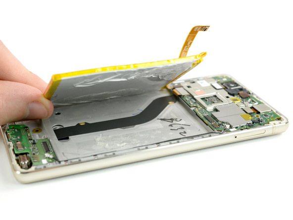 تعمیرات موبایل : آموزش تعویض باتری هوآوی P9 Lite (پی 9 لایت)