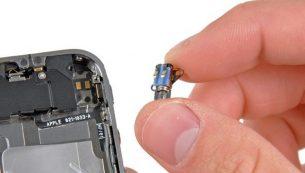 تعمیرات آیفون: تعویض موتور ویبره آیفون ۴ اپل