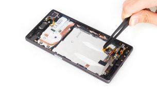 آموزش تعویض فلت شارژ  Xperia Z5 سونی