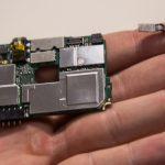 تعمیرات موبایل : آموزش تعویض دوربین سلفی اسند W1 هوآوی