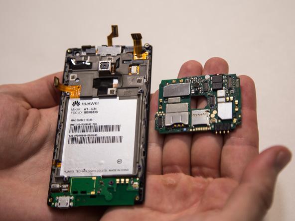 تعمیرات موبایل : آموزش تعویض برد اسند W1 هوآوی