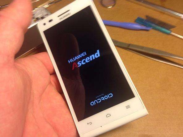 تعمیرات موبایل : آموزش تعویض تاچ ال سی دی اسند G6 هوآوی