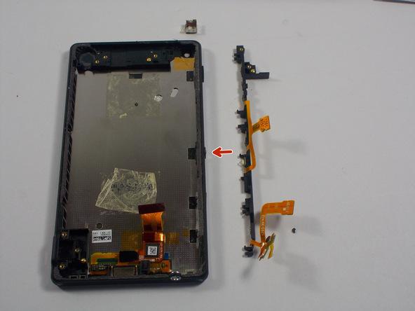 تعمیرات موبایل: آموزش تعویض دکمه پاور اکسپریا ZL سونی