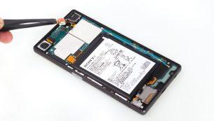 تعمیرات سونی: تعویض دوربین سلفی Xperia Z5