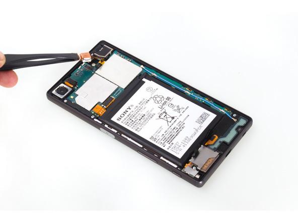 تعمیرات موبایل : آموزش تعویض دوربین سلفی Xperia Z5 سونی