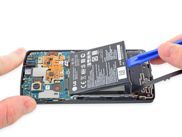 تعمیرات موبایل : آموزش تعویض باتری نکسوس 5 الجی
