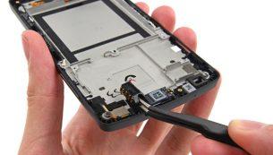 تعمیرات ال جی: تعویض جک هدفون Nexus 5 ال جی