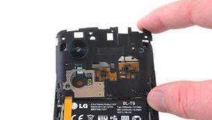 تعمیر ال جی :تعویض فریم میانی Nexus 5 (درپوش محافظ برد)