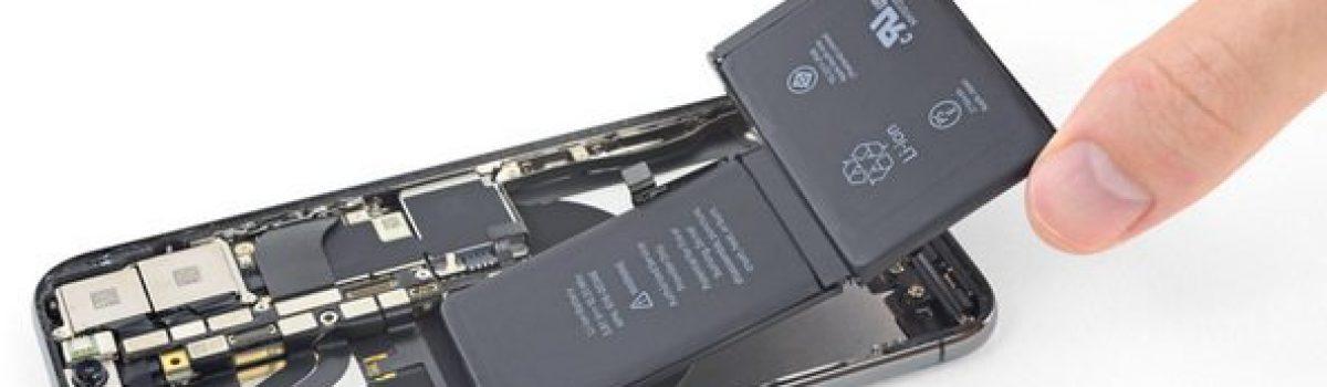 تعمیر باتری آیفون X اپل بصورت تخصصی با کمترین هزینه