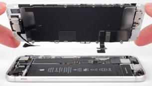 تعمیر ال سی دی شکسته آیفون ۸ اپل با کمترین هزینه!