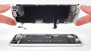 تعمیر ال سی دی آیفون ۸ پلاس اپل با کمترین هزینه و قیمت