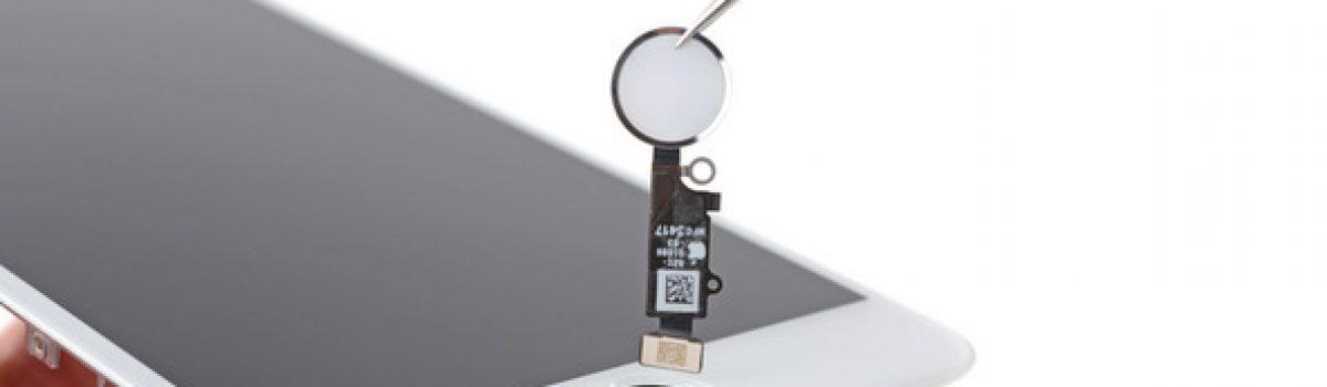 تعمیر دکمه اثر انگشت یا تاچ آیدی آیفون ۸ پلاس با کمترین هزینه و قیمت در موبایل کمک