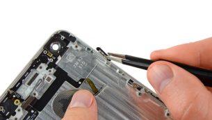 تعمیر دکمه پاور آیفون ۶ پلاس اپل با کمترین هزینه و قیمت ممکن