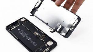 تعمیر ال سی دی آیفون ۷ اپل با کمترین هزینه در موبایل کمک
