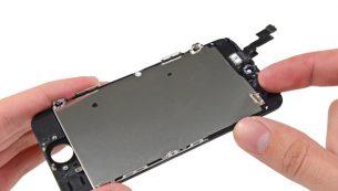 تعمیر ال سی دی آیفون SE اپل با کمترین هزینه و قیمت در موبایل کمک