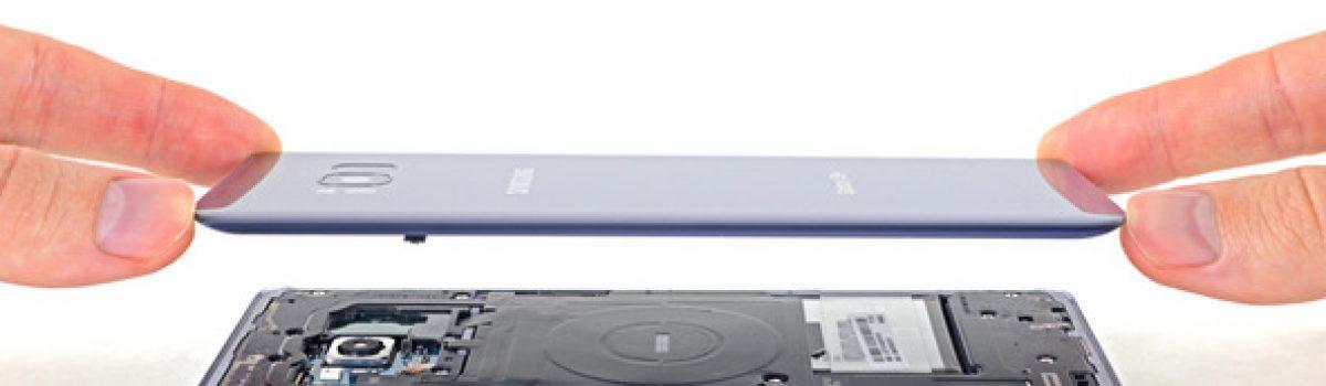 تعمیر قاب پشت گلکسی S8 پلاس با کمترین هزینه و سریعترین زمان