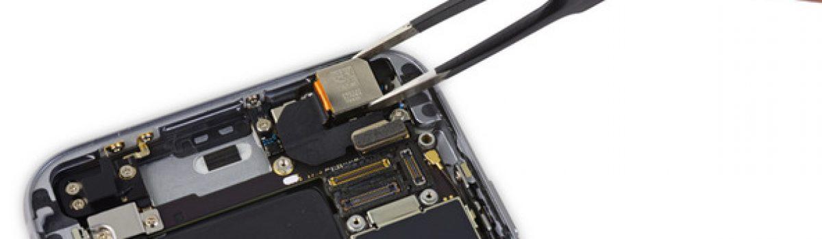تعمیر یا تعویض دوربین آیفون ۶s